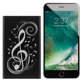 Power Bank Portable Phone Charger. Music Notes