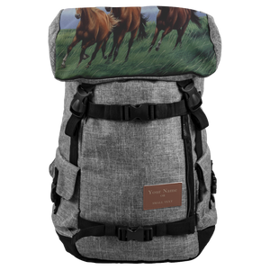 Horse Lovers BackPack For Men And Women