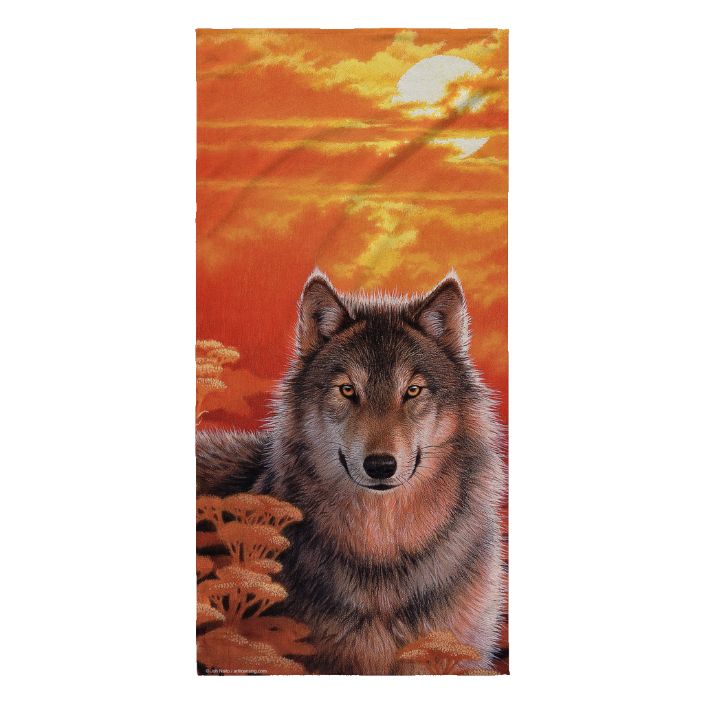 Joh Naito Exclusive Artwork Beach Towel - Gaze
