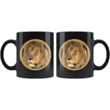 Lion coffee mug algarve online shop front and back