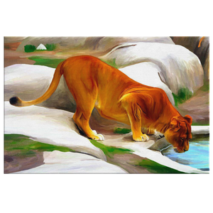 Lion Canvas- algarve online shop