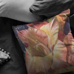 Decorative Pillow for flower lovers