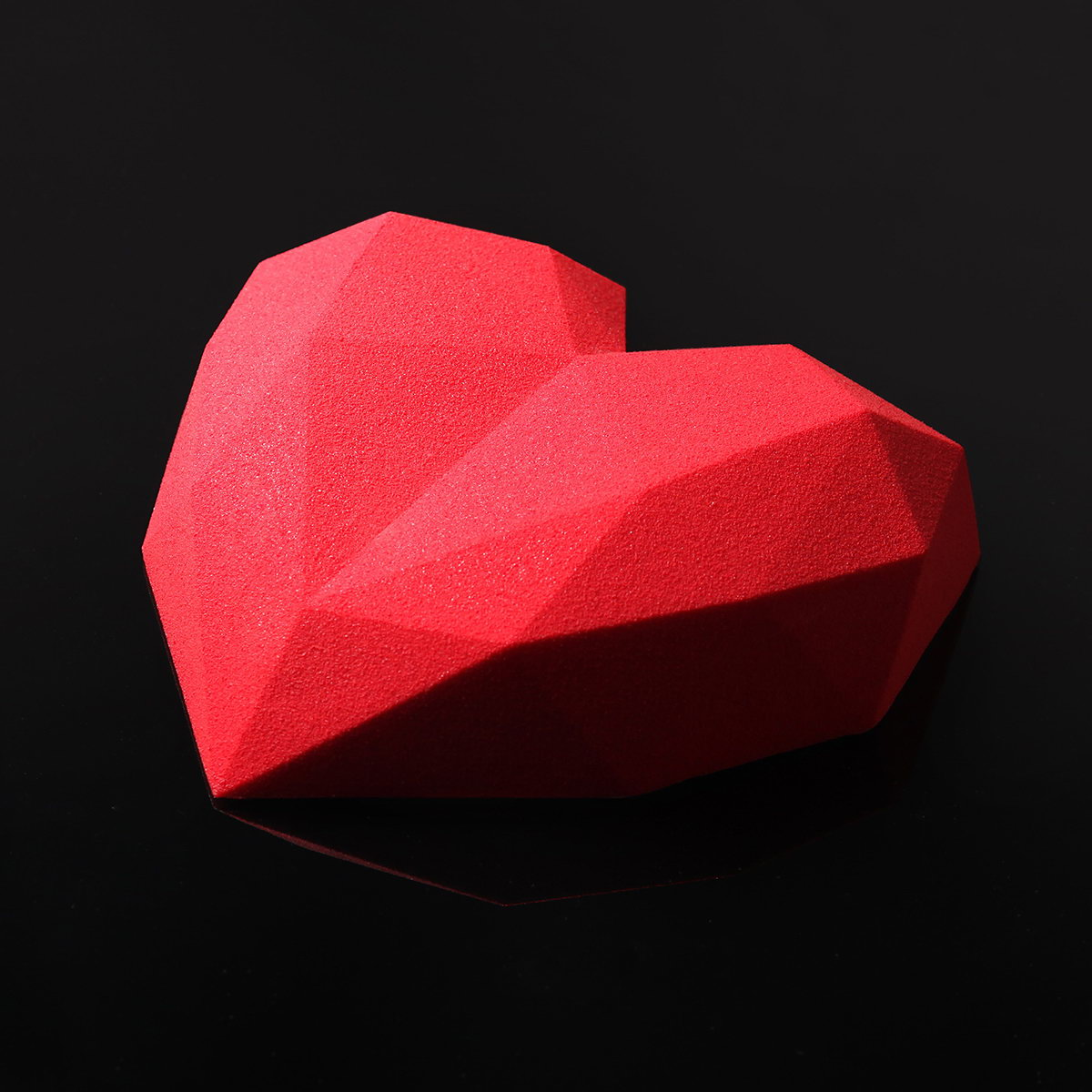 Pastry Art -  3D Diamond Heart Mold Cake Decoration