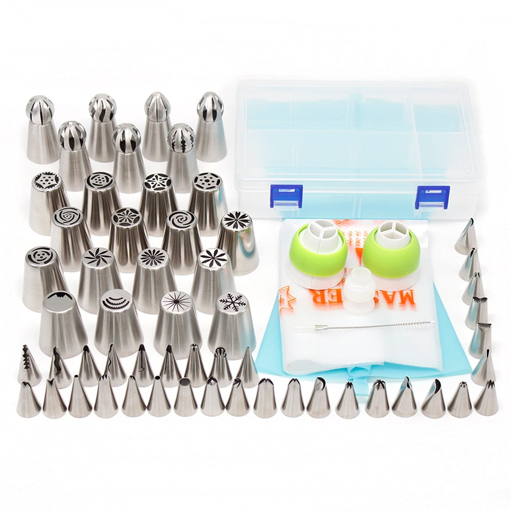 56 pcs Cake decorating tools