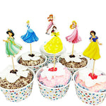 Princess Cupcake Topper