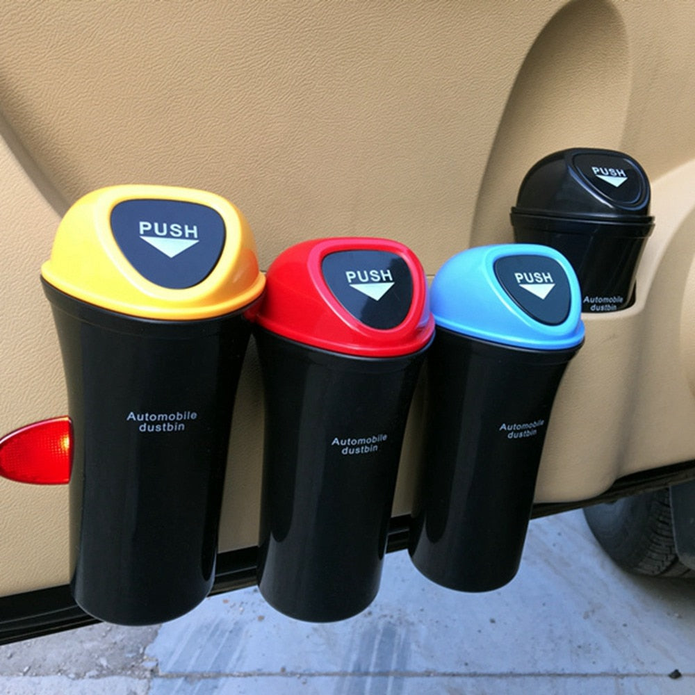 Mini Car Trash Can Organizer