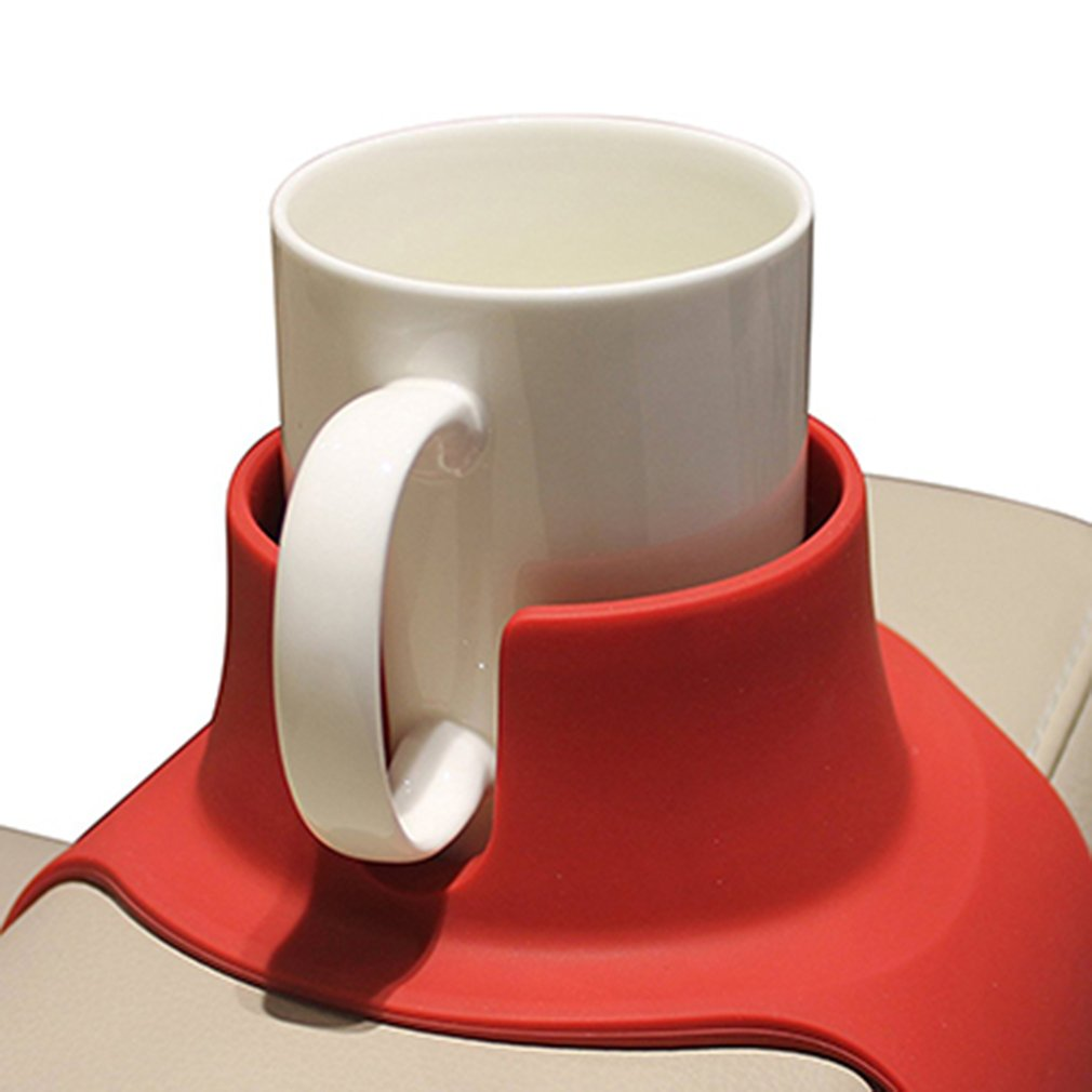 CouchCoaster –  Anti-Spill Cup Holder Drink Coaster for Your Sofa