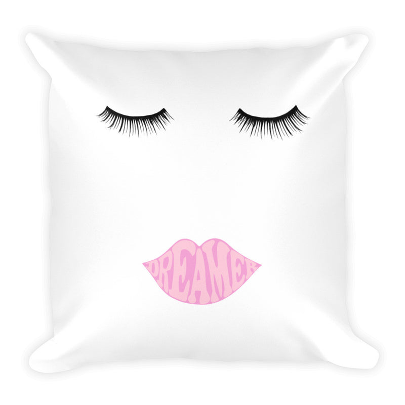 """Dreamer"" Square Pillow"
