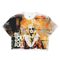 beYOUtotheFULL Ladies Crop Top