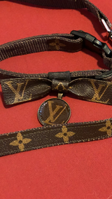 LVoe Cat or Dog Collar Handmade