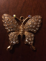 Purse Charm / Key Ring - Butterfly Charm Individual