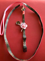 LVoe Dog or Cat Collar and Leash COMBO Handmade