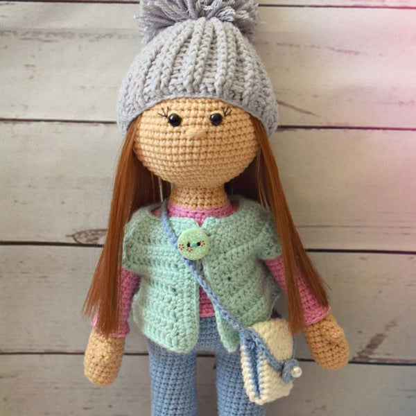 Molly doll crochet pattern - printable PDF