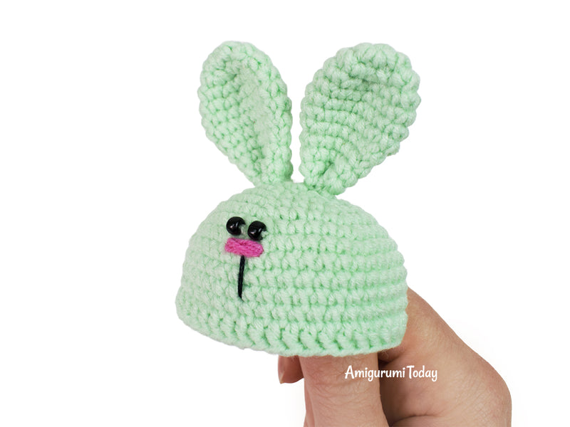 Bunny Doll crochet pattern - printable PDF