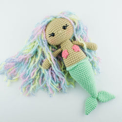 Aurora Mermaid amigurumi pattern - printable PDF