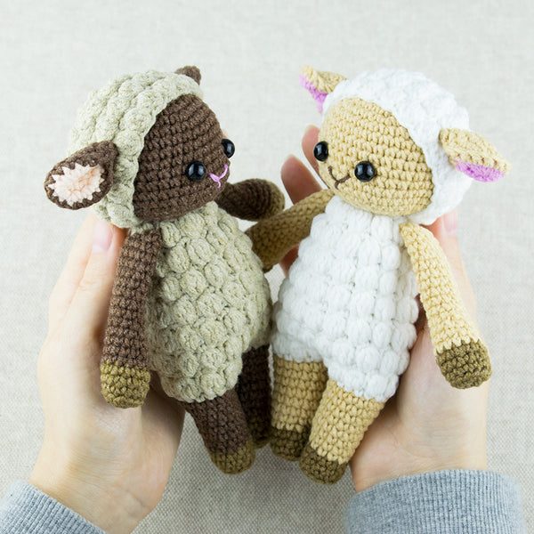 Cuddle Me Sheep amigurumi pattern - printable PDF