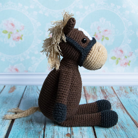 Farm Horse crochet pattern - printable PDF