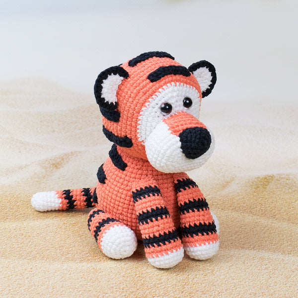 Romeo the Tiger amigurumi pattern - printable PDF