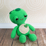 Soft & Dreamy Turtle amigurumi pattern - printable PDF