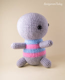 Amigurumi koala with heart - printable PDF