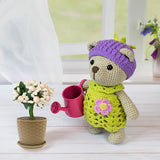 Blackberry bear amigurumi pattern - printable PDF