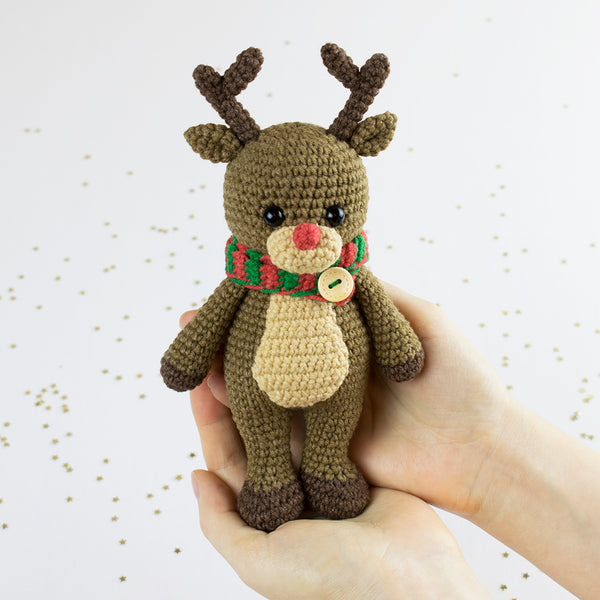 Cuddle Me Reindeer crochet pattern - printable PDF – Amigurumi Today ...