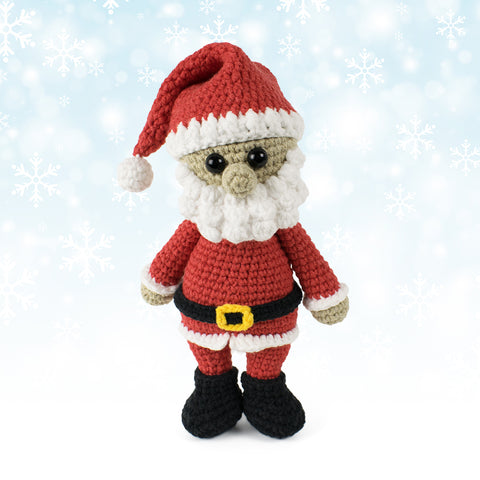 Cuddle Me Santa Claus crochet pattern - printable PDF