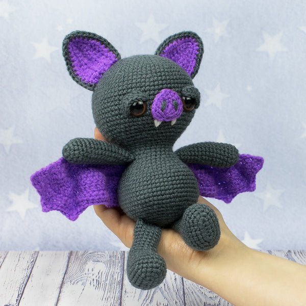 Soft & Dreamy Bat amigurumi pattern - printable PDF