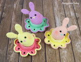 Easter bunny egg crochet pattern - printable PDF