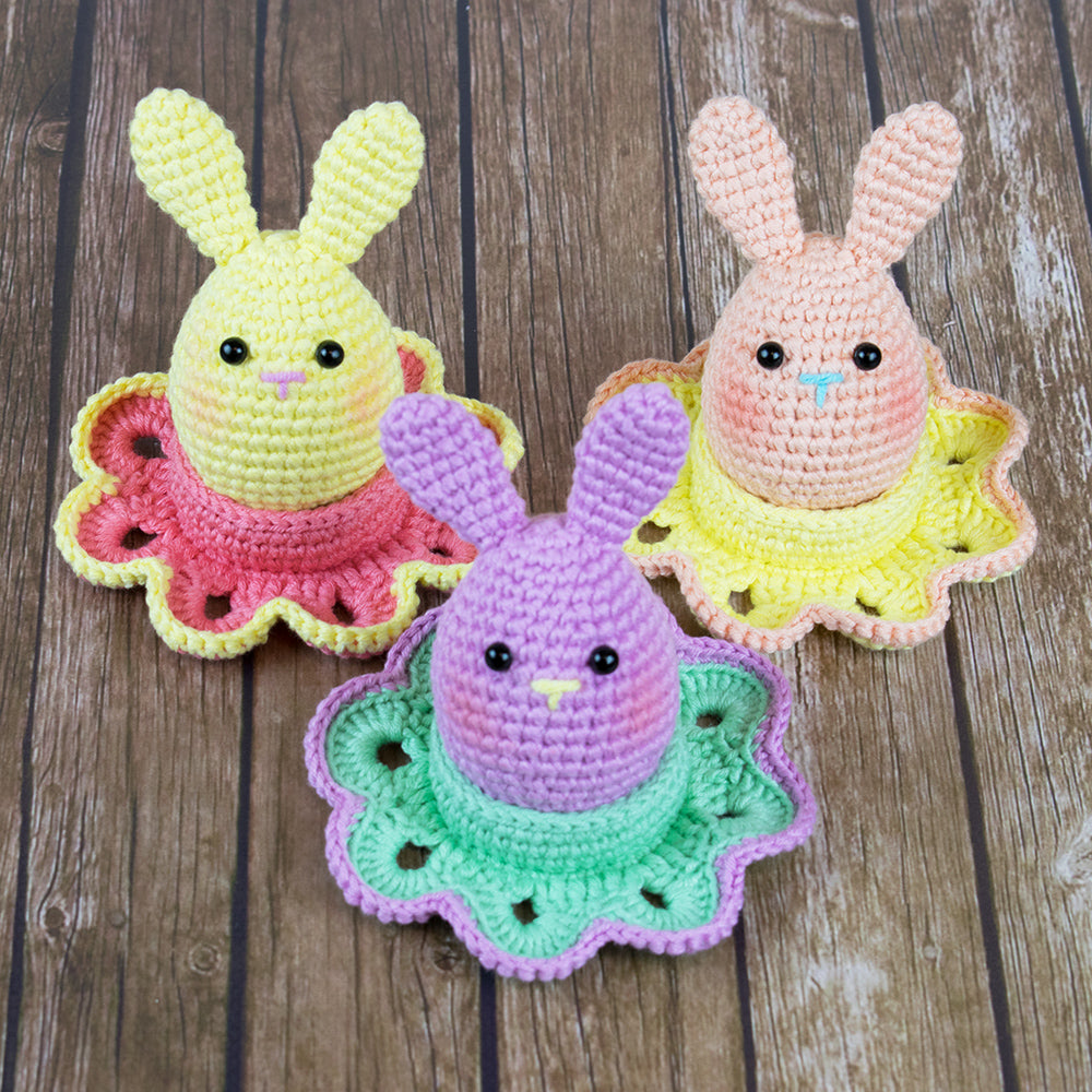 Easter bunny egg crochet pattern - printable PDF ...