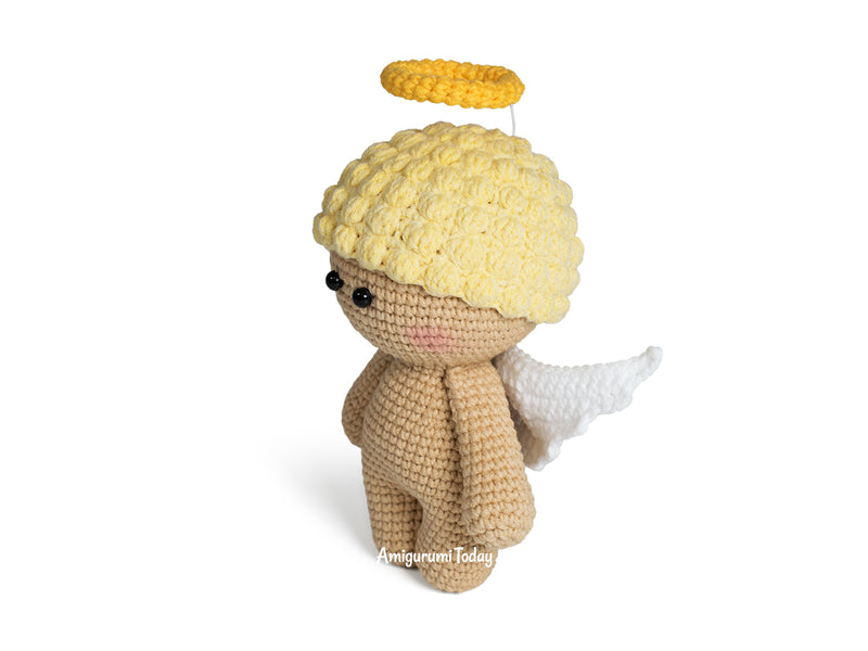 Christmas angel amigurumi pattern - printable PDF