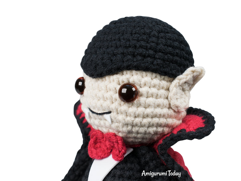 Cuddle Me Vampire crochet pattern - printable PDF