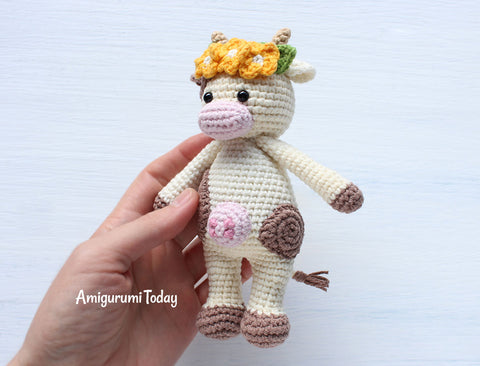 Cuddle Me Cow Amigurumi Pattern Printable Pdf Amigurumi Today Shop