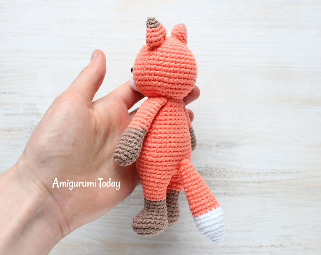 Cuddle Me Fox Amigurumi Pattern Printable Pdf