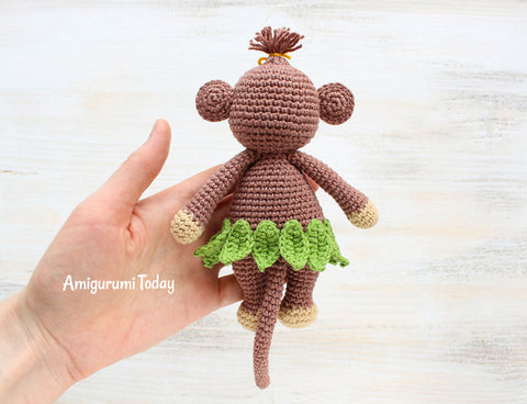 Amigurumi Monkey Patterns : Curtain tie back crochet patterns glif