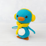 Kevin the Penguin crochet pattern - printable PDF