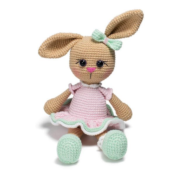 Lolli Bunny crochet pattern - printable PDF