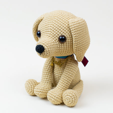 Lucky puppy amigurumi pattern - printable PDF