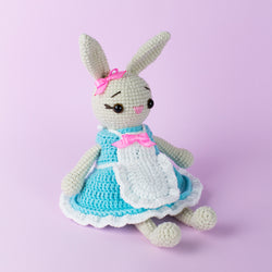 Mother Bunny amigurumi pattern - printable PDF