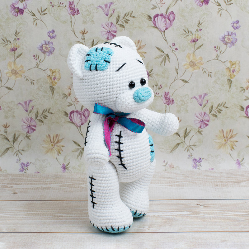 Teddy Bear crochet pattern - printable PDF