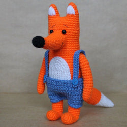 Mr. Fox crochet pattern - printable PDF