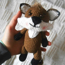 Raccoon crochet pattern - printable PDF