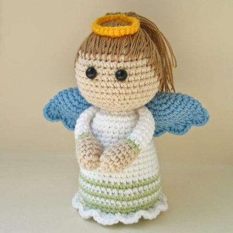 Lovely Angel crochet pattern - printable PDF