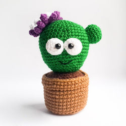 Amigurumi cactus pincushion pattern - printable PDF