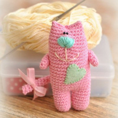 Amigurumi cat pattern - printable PDF