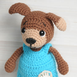Timmy the Dog amigurumi pattern - printable PDF