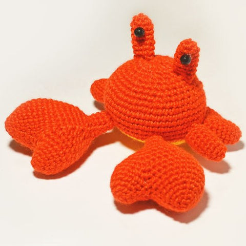 Mr. Crab crochet pattern - printable PDF