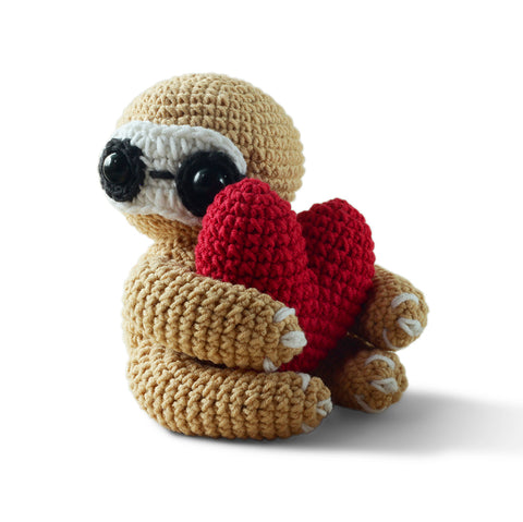 Amigurumi sloth crochet pattern - printable PDF