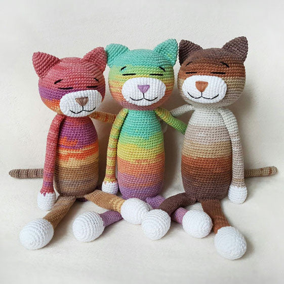 Large ami cat pattern printable pdf amigurumi today shop for How to crochet cat toys