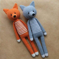 Long-legged amigurumi toys - printable PDF